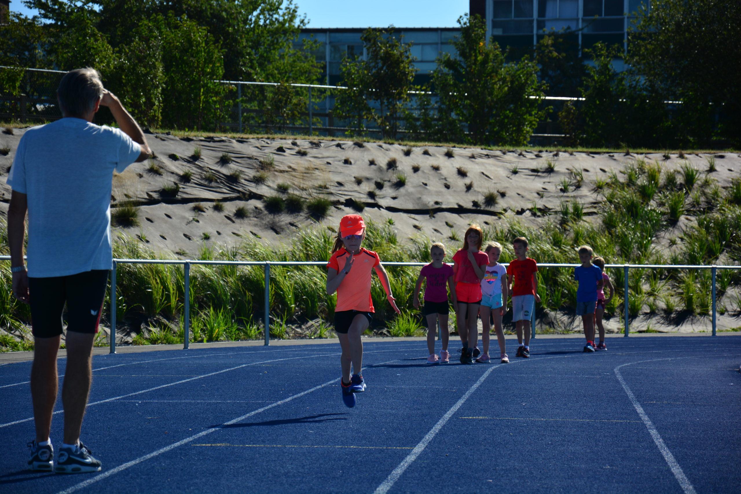 Stage d'athlétisme : Technique de sprint